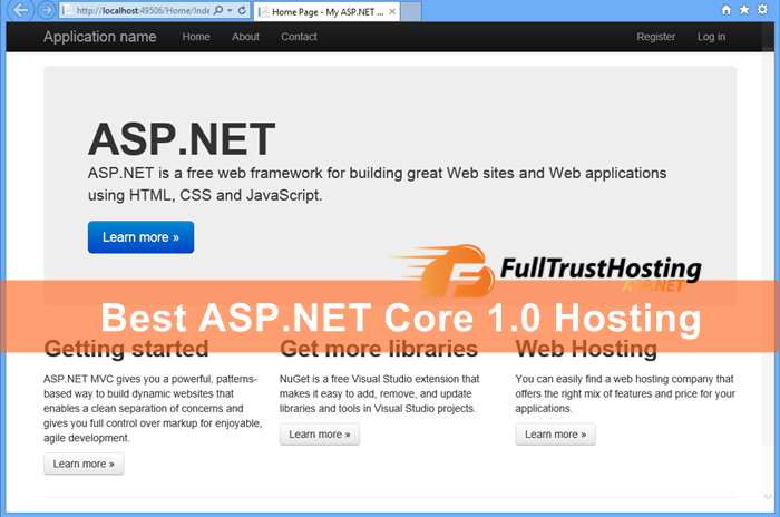 Best ASP.NET Core 1.0 Hosting
