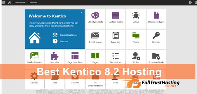 Best Kentico 8.2 Hosting