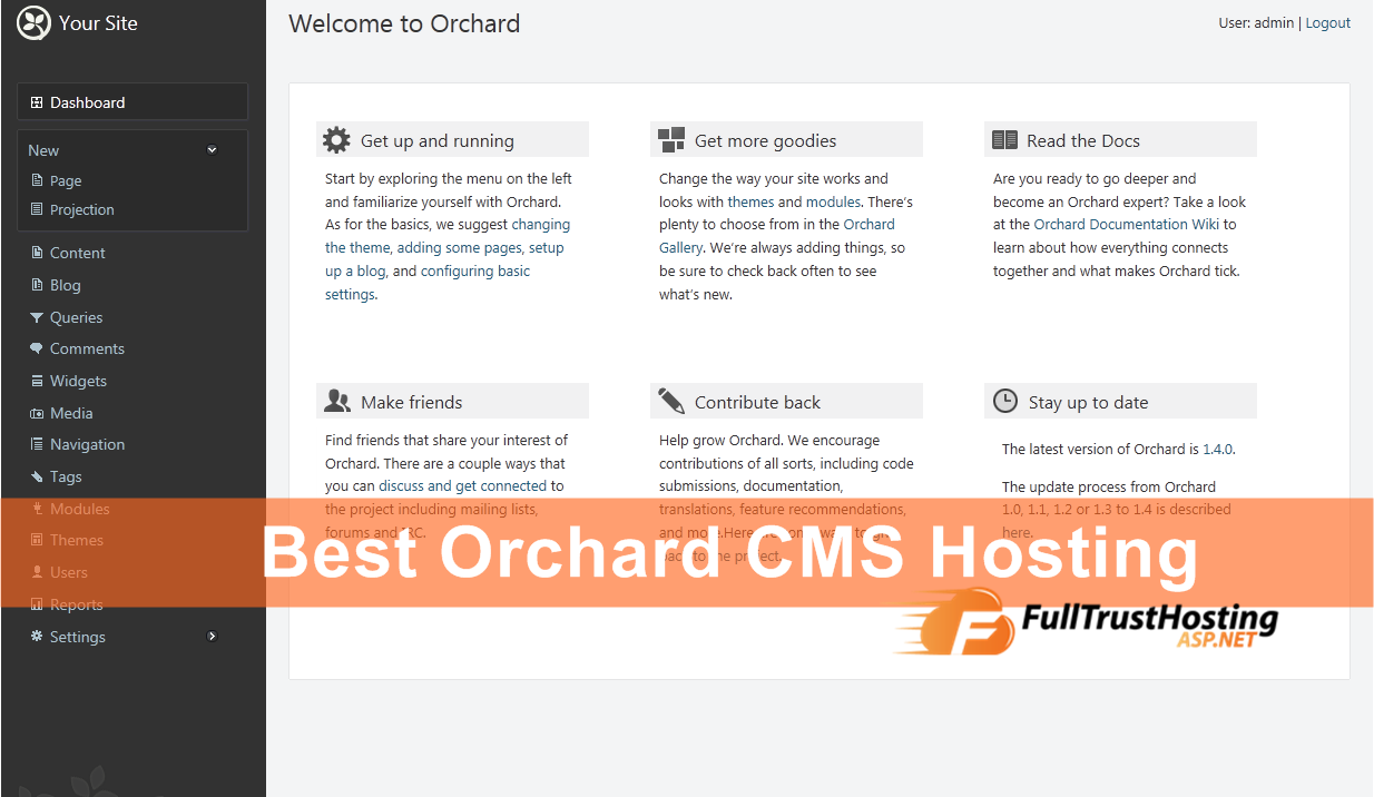 Best Orchard CMS Hosting