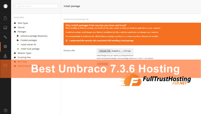 Best Umbraco 7.3.6 Hosting