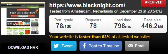 BlackNight Speed