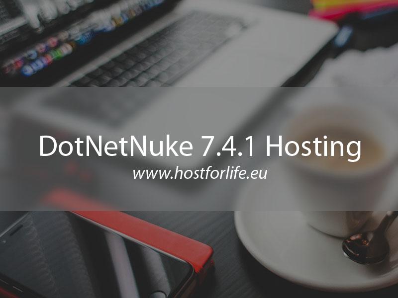 DotNetNuke 7.4.1 Hosting