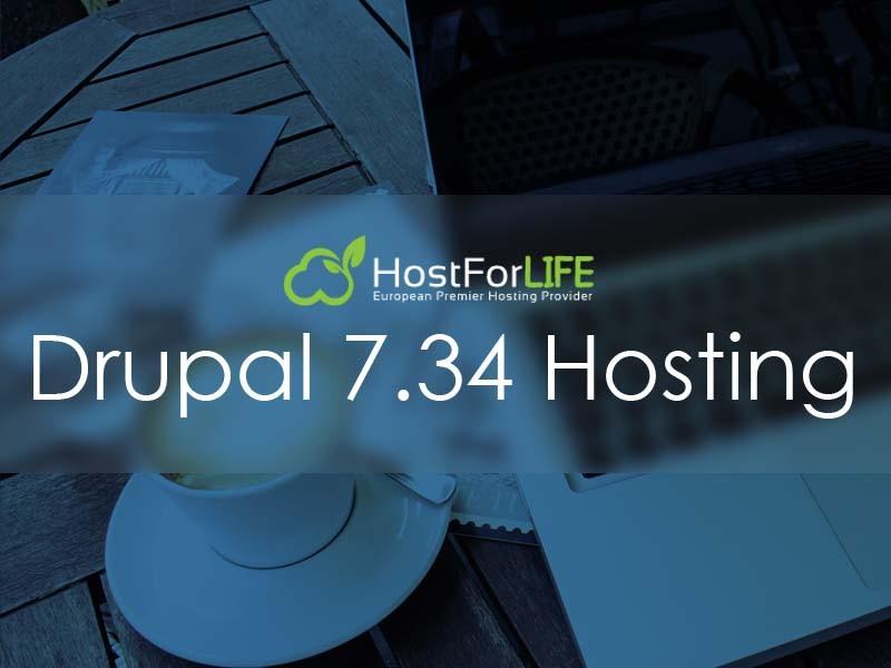 Drupal 7 34 Hosting