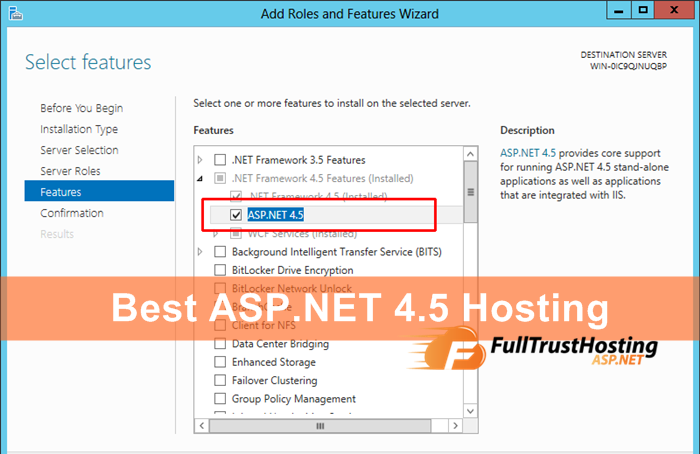 3 of The Best ASP.NET 4.5 Hosting Providers