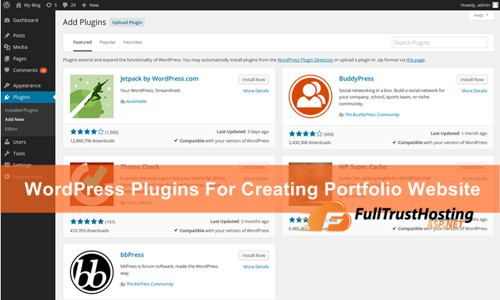 Best Free WordPress Plugins to Create A Portfolio Website