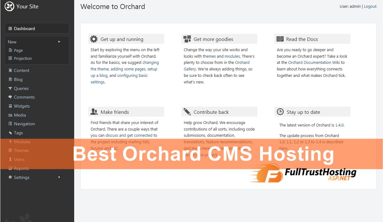 Best Orchard CMS Hosting