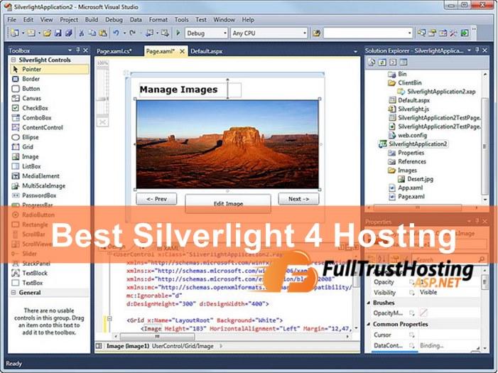 Best Silverlight 4 Hosting