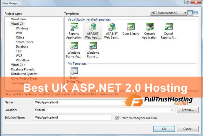 Best UK ASP.NET 2.0 Hosting