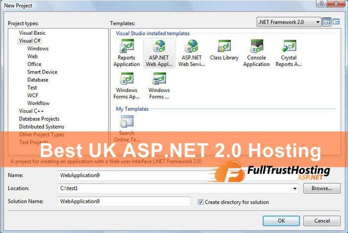 Best UK ASP.NET 2.0 Hosting