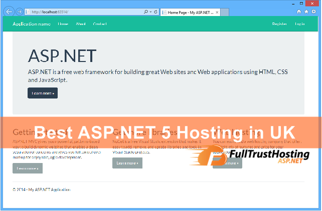 Best and Affordable ASP.NET 5 Hosting in UK