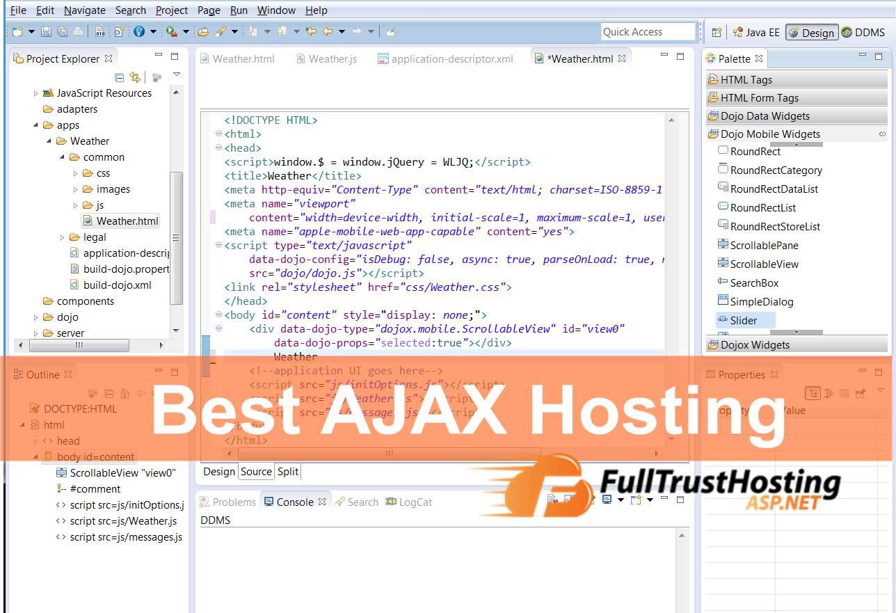 Best of The Best AJAX Hosting