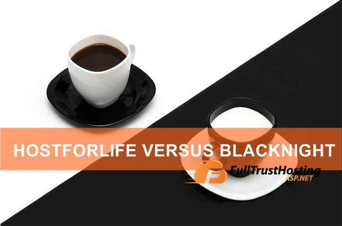 HostForLIFE VS BlackNight ASP.NET Hosting Comparison
