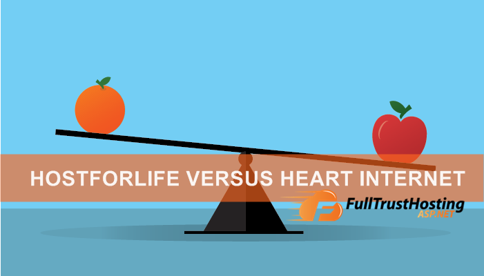 HostForLIFE.eu VS Heart Internet - Best Windows Hosting Comparison
